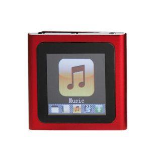 Lecteur MP4 rouge 4GO MP215R 4   Un lecteur MP4 multifonctions livré