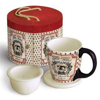 WISDOM BREWED HERE Tea Mug Set by LANG with Beautiful