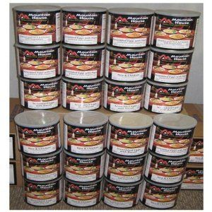 YEAR SUPPLY Mountain House Freeze Dried food   2 MEALS/DAY