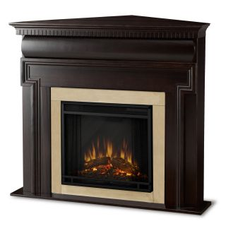 Real Flame Mt. Vernon Dark Walnut Electric Corner Fireplace Today $