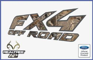 Ford F250 F350 F450 FX4 Off Road RealTree AP Decals