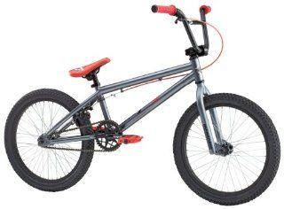 Mongoose Herren BMX Fahrrad Logo, gun metal, 20 Sport