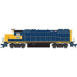 10000928 TM GP38 2 Long Island Railroad 251 HO: Toys & Games