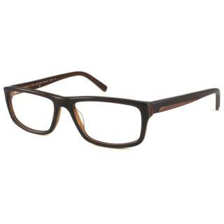 Calvin Klein Readers Mens CK7764 Olive Rectangular Reading Glasses