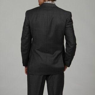 MICHAEL Michael Kors Mens Charcoal Wool Suit