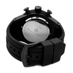 Swiss Legend Mens Neptune Black Silicone Watch
