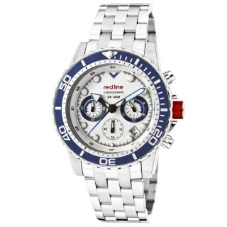 Red Line Mens Piston Stainless Steel Watch