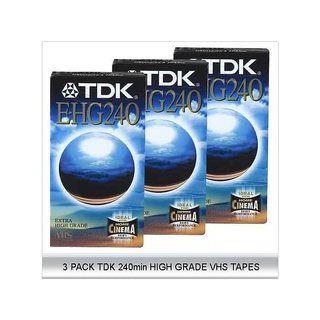TDK E 240 EHG HIFI VHS High Grade Elektronik