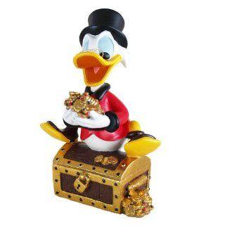 Donald und Freunde Donald Duck Kunstharzfigur Dagobert Duck