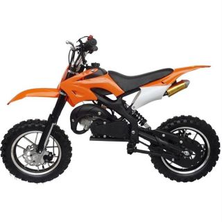 Moto DIRT BIKE enfant non homologué   Coloris  Orange   2 temps