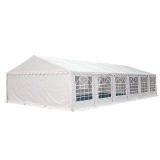 6x12m PVC Partyzelt Bierzelt Zelt Gartenzelt Festzelt Pavillon weiß