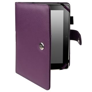 BasAcc Purple Leather Case for  Kindle Fire HD 8.9 inch