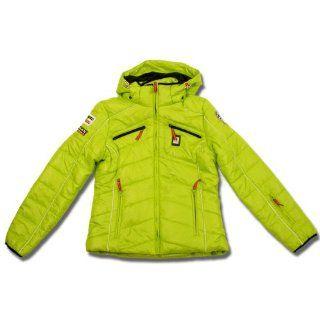 Icepeak Damen Skijacke MENA Winterjacke Jacke Snowboardjacke grün
