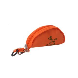 Foldable Orange Pet Dog Bowl
