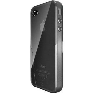 iSkin Solo Hülle für Apple iPhone 4 / 4S schwarz