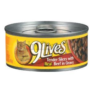 Del Monte Foods 7910000325 5.5OZ Beef Cat Food