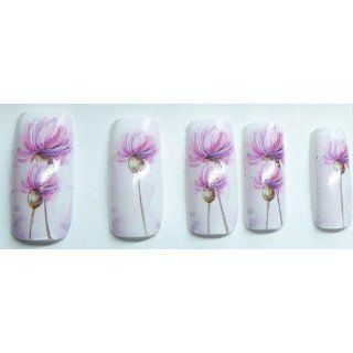 Full Cover Nail Sticker Nail Art Folie Blüte V19: