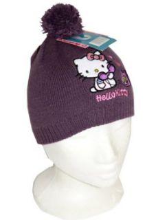 HELLO KITTY süsse Mütze   violett Bekleidung