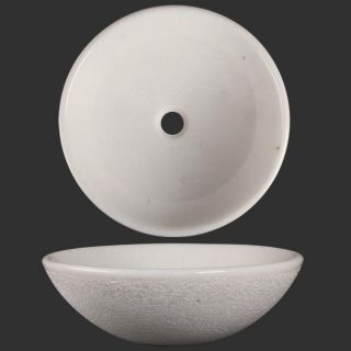 Ticor Geyser Bianco Granite Vessel Bathroom Sink
