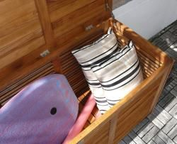 Le Spa Teak Indoor/ Outdoor Storage Box