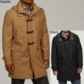 Kenneth Cole Reaction Mens Wool Blend Toggle Coat FINAL SALE