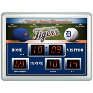 Detroit Tigers Scoreboard Clock