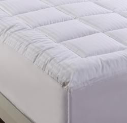 Damask Stripe Pillowtop 500 Thread Count Queen/ King/ California King