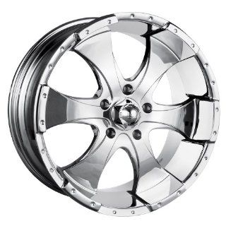 17x8 ION Alloy Style 136 (Chrome) Wheels/Rims 6x139.7 (136 7883C