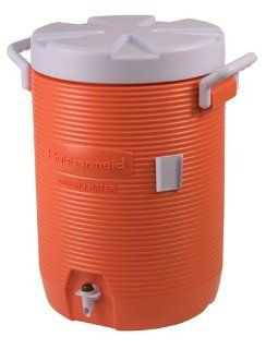 5 Gallon Insulated Rubbermaid Drink Cooler Patio, Lawn