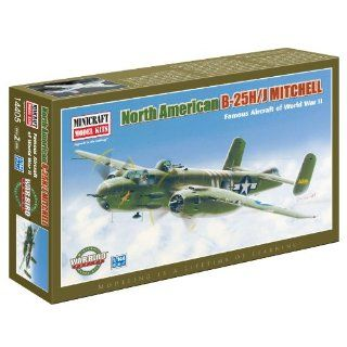 Minicraft Models B 25H/J Mitchell 1/144 Scale: Toys & Games