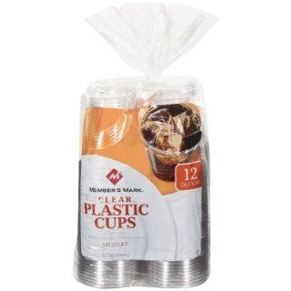 Clear Plastic Cups   12oz   140 ct