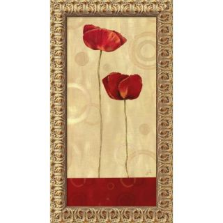 Daphne Brissonnet Pop Art Poppies I Framed Art