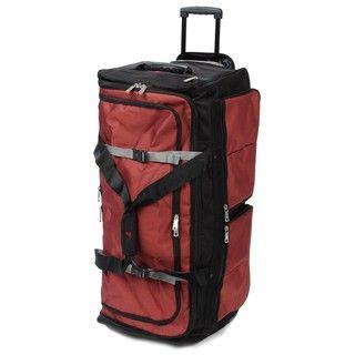 Athalon Rust 35 inch Rolling Duffel Bag