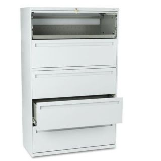 HON 700 Series 42 inch 5 Shelf Lateral File Cabinet Today: $1,125.99
