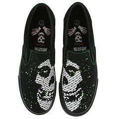 Draven Misfit Invader Slip On Black/Green