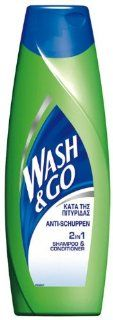 Wash & Go Anti Schuppen Shampoo, 3er Pack (3 x 400 ml)