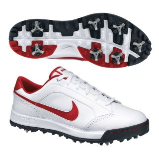Nike Mens Air Anthem White/ Red Golf Shoes