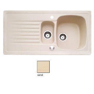 Keramikspüle TARGA 60 von Villeroy & Boch in Sand / Spülen / Keramik