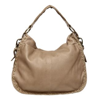 Kenneth Cole New York Studded Large Hobo