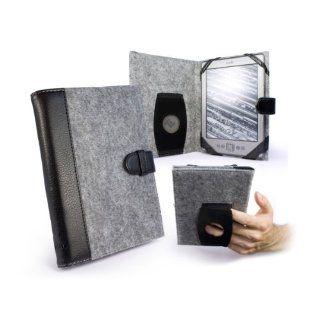 Tuff Luv Embrace Tasche Hülle für Kobo Touch   grau: