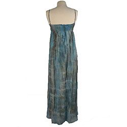Young Fabulous & Broke Womens Tie dye Silk Blend Maxi Dress