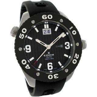 Edox Mens Class 1 Big Date Diver Watch