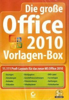 Dier große Office 2010 Vorlagen Box: Software