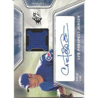 Pena 2001 SPx Autograph Jersey Card #146 Texas Rangers: Collectibles