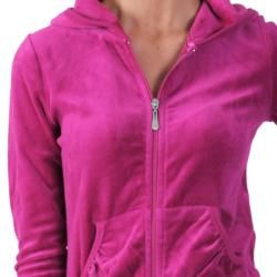 Journee Collection Womens Velour Hooded Lounge Set
