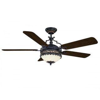 Savoy House Morea Black Ceiling Fan