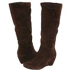 Kenneth Cole Reaction Forever Real Dark Brown Suede Boots