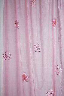 Kinder Vorhänge Rosa Blumen (2 Schals): Küche
