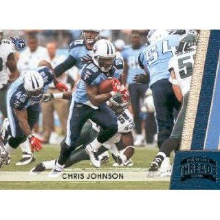 2011 Panini Threads Football #143 Chris Johnson Tennessee