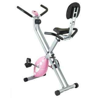 Steel and plastic Sunny Health Fitness Folding Recumbent X Bike Today
